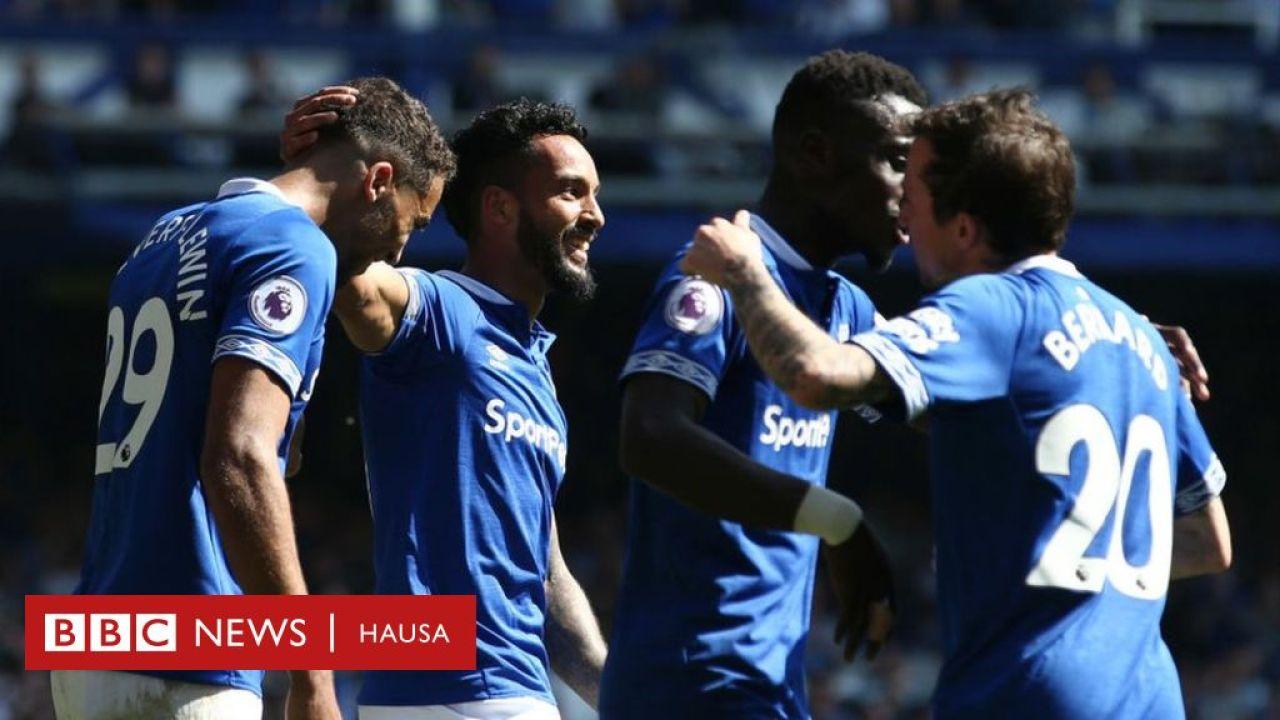 Everton ta lallasa Man United - AREWA ng - Nigeria news