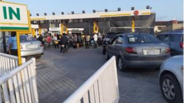 Station wey dey sell petrol for Port Harcourt