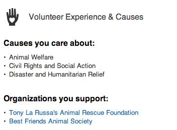 My charities