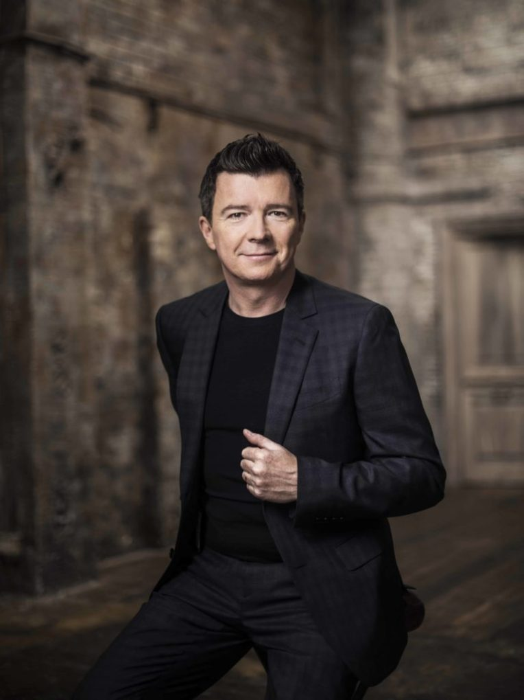 Rick Astley for BMG by Pip