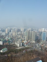 Namsan: View of Seoul