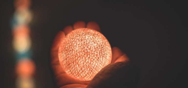 glowing ball