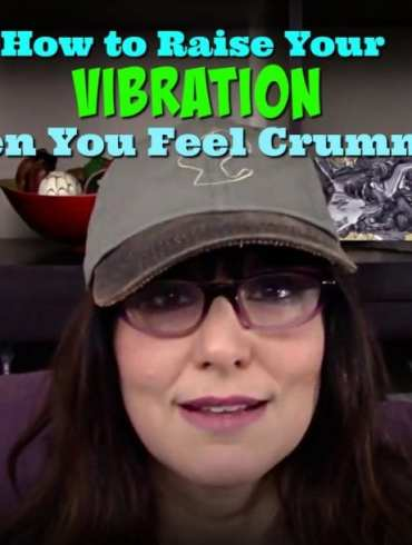 Video tips by Kimberly Darwin from AreYouAwakening.com on raising the level of your vibration when you feel shitty.