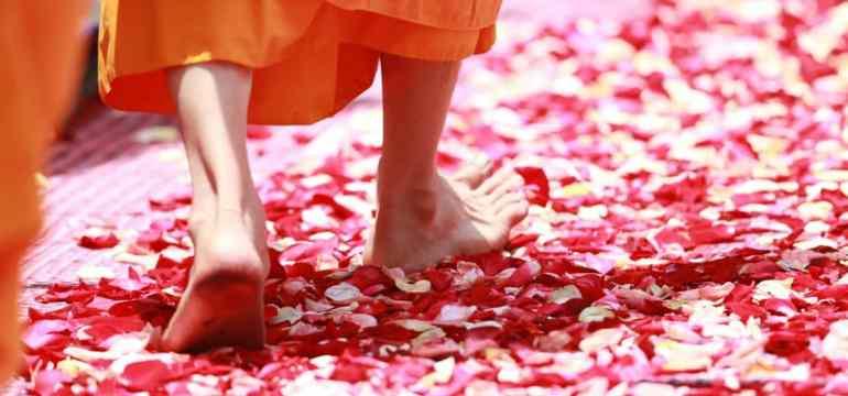 pulsing feet