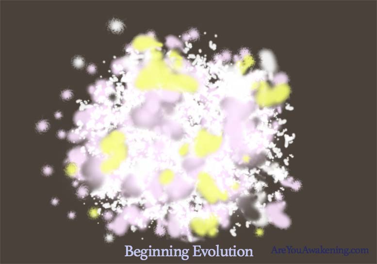 a soul as it starts evolution
