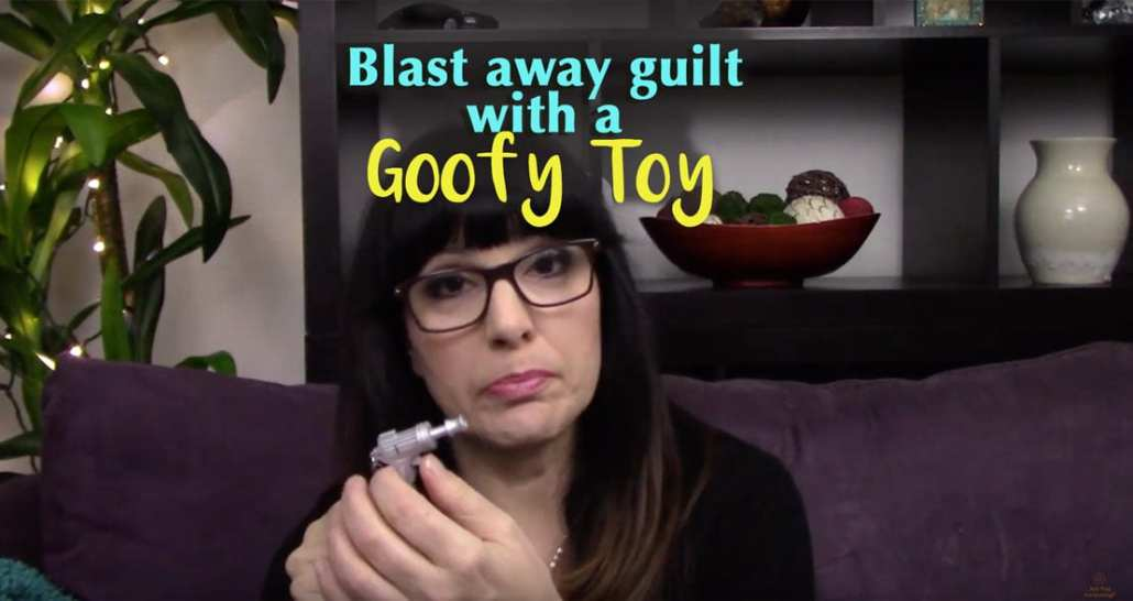 how to blast away guilt with a toy laser gun