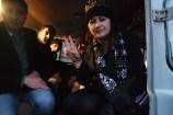 Zoria Petkoska and the locals