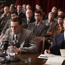 "(L-r) LEONARDO DiCAPRIO as J. Edgar Hoover and ARMIE HAMMER as Clyde Tolson in Warner Bros. Pictures' drama €œ""J. EDGAR"",€ a Warner Bros. Pictures release."