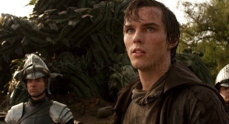 """NICHOLAS HOULT as Jack in New Line Cinema's and Legendary Pictures' action adventure """"JACK THE GIANT SLAYER,"""" a Warner Bros. Pictures release."""