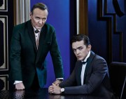 Dominion Review Syfy TV - Pictured: (l-r) Anthony Stewart Head as Senator David Whele, Luke Allen-Gale as William Whele