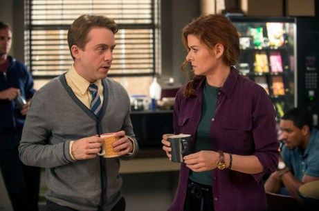The Mysteries of Laura Review NBC TV Max Jenkins, Debra Messing