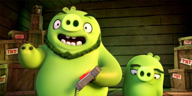 The Angry Birds Movie Pigs
