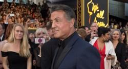 Sylvester Stallon Oscar Red Carpet