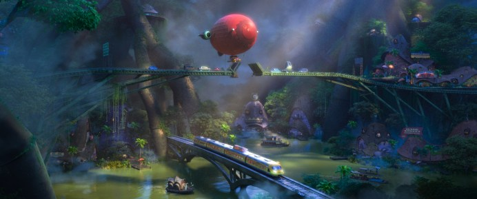 ZOOTOPIA – RAINFOREST DISTRICT. ©2016 Disney. All Rights Reserved.