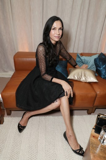Famke Janssen seen at Netflix 2016 Emmy Party at NeueHouse on Sunday, Sept. 18, 2016, in Los Angeles.