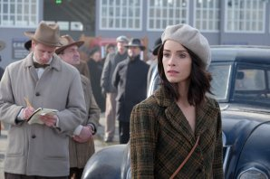 "TIMELESS -- ""Pilot"" -- Pictured: Abigail Spencer as Lucy Preston"