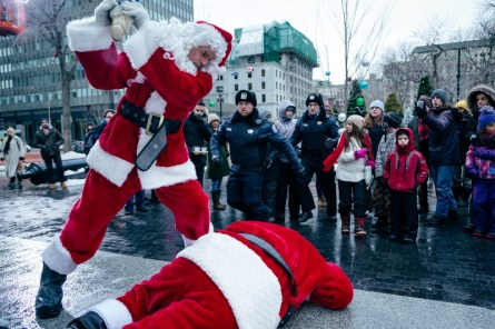 Billy Bob Thornton stars as Willie Soke in BAD SANTA 2, a Broad Green Pictures and MIRAMAX release.