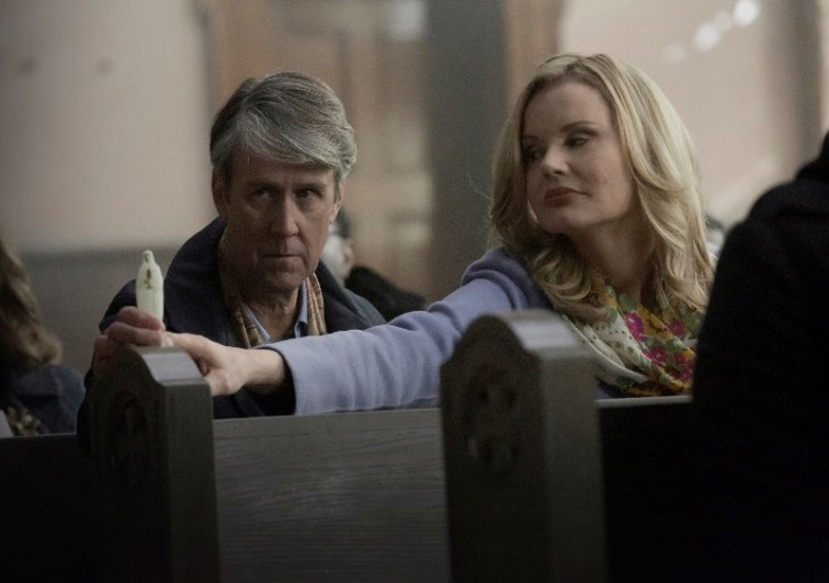 The Exorcist - FOX - Alan Ruck and Geena Davis