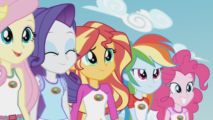 My Little Pony Equestria Girls Legend of Everfree DVD Review