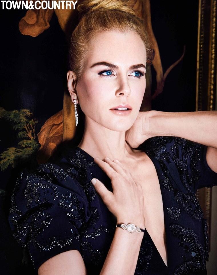 Nicole Kidman - Town & Country Dec-Jan 2016