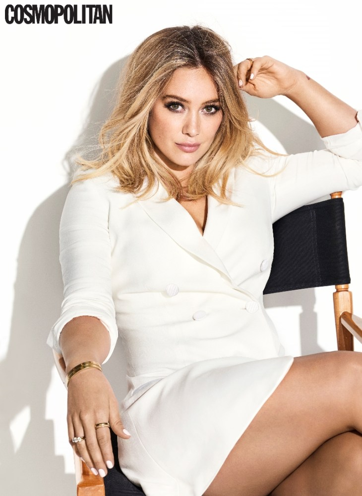 Hilary Duff in Cosmo Feb 17
