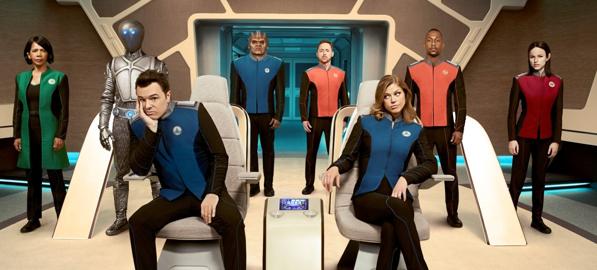 The Orville Review - TV - MacFarlane Boldly Wanders Into Strange Territory