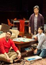 James Yaegashi as Rod, Mia Katigbak as Vera, and Tiffany Villarin as Momo