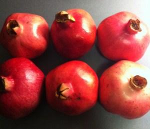 Granatäpplen, pomegranate. Om skönhetstips