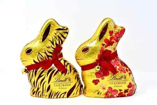 Chokladkanin till påsk från Lindt