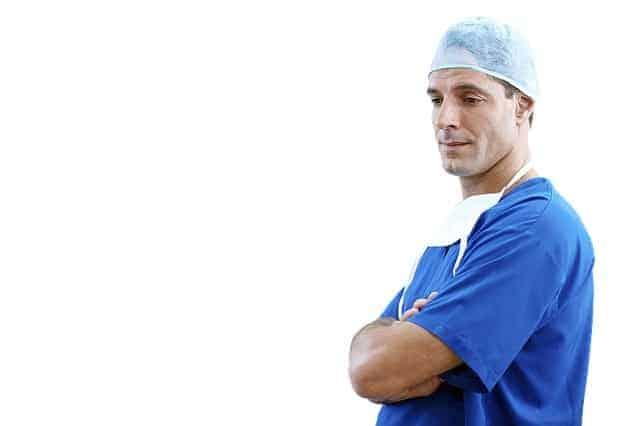 Doktor, sköterska