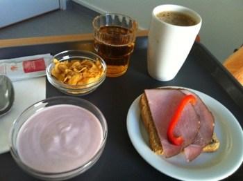 Sjukhusmat, frukost
