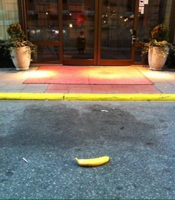 Banan på röda mattan