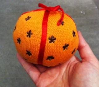 Apelsin med nejlikor