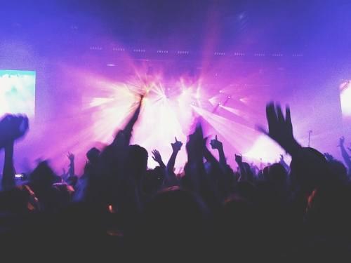 Konsert, disco, publik