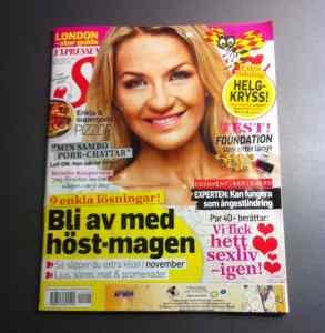 Expressen Söndag med Arga Klara och reportage om EDS. Artikeln finns inte på nätet. Positiva reaktioner på reportaget.