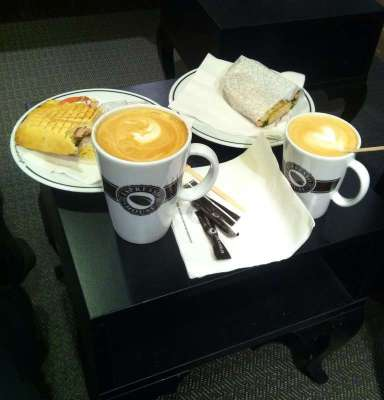 Fika, café, kaffe