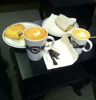 Fika, café. Stora muggar!