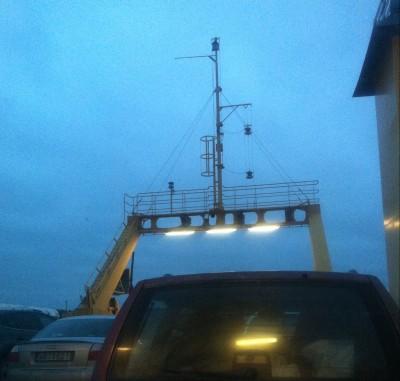Utflykt med båtfärja för att kolla på hus