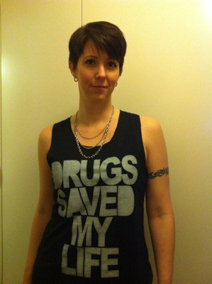 Arga Klara, drugs saved my life