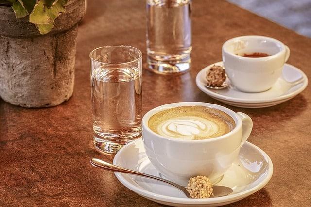 Cappuccino, kaffe