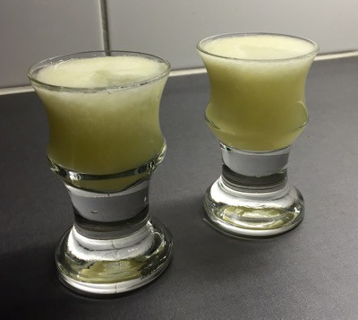 Lökshots, lökjuice med vodka