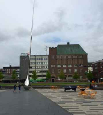 Eskilstuna centrum, torget och Pin point