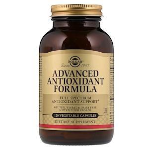 Formula antioxidante avanzada 120 capsulas vegetales Solgar
