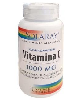 Vitamina C 1000mg 30 comp Solaray
