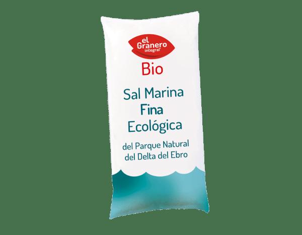 Sal Marina Fina Bio 1kg El Granero