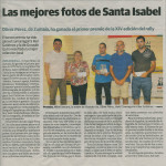 Tercer Premio Santa Isabel 2013