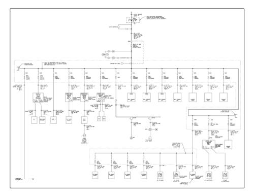 single line wiring diagram  1990 chevy silverado wiring
