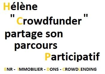 Hélène, Crowdfunder, nous parle de son parcours participatif