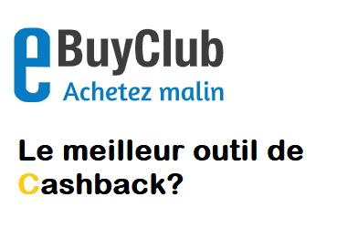 Avis eBuyClub Cashback
