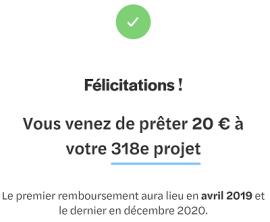 October File d'attente investissement - Prêt validé